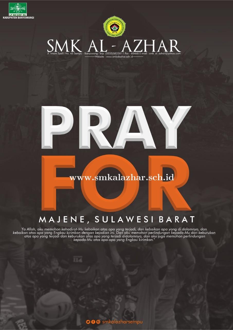 Pray for Majene. Sulawesi Barat